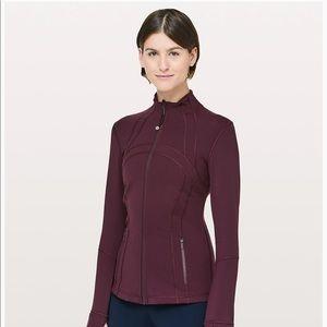 Lululemon define jacket in plumb